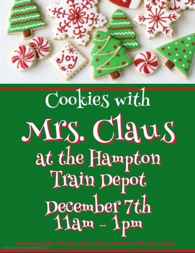 Cookies with Mrs. Claus Flyer