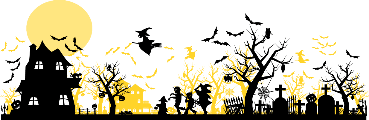 Halloween Trick Or Treat Silhouette.Trick Treat Hampton Ga
